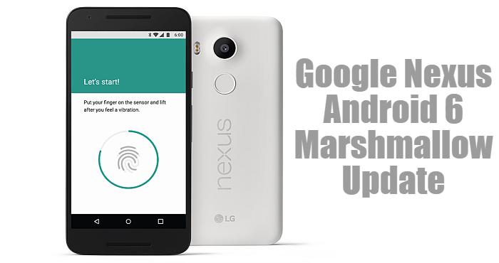 Google-Nexus-Android-Marshmallow-Update