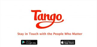 Making a Call with Tango Messenger